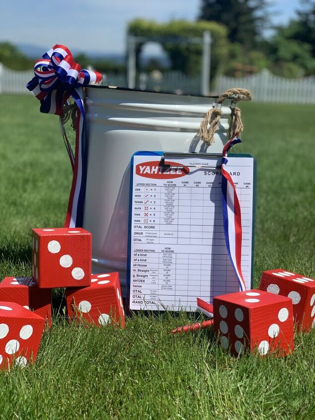 how to create a fun outdoor yard game