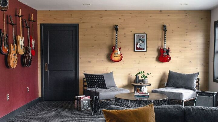 s 11 stunning ways to totally transform your boring blank walls, Wood Plank Wall