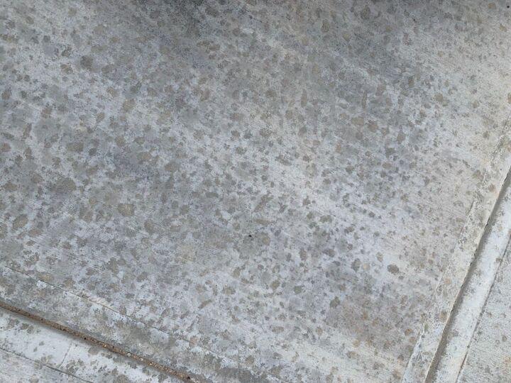 q spots in brand new driveway