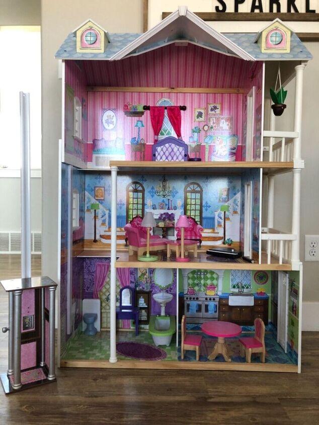 dollhouse makeover