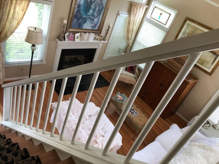 q suggestions for stair rail