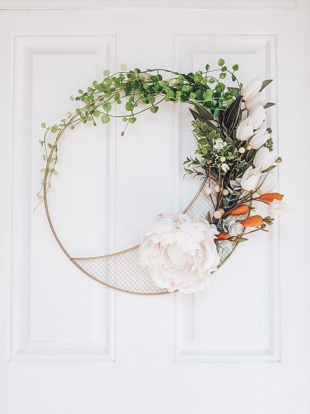 how i made a stunning succulent wreath for free