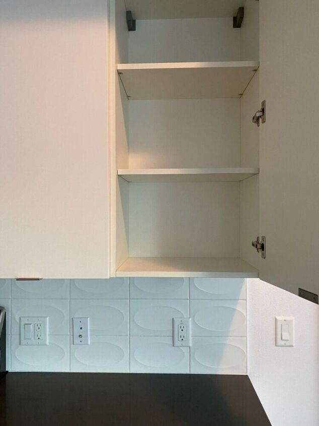 q get rid of the smell from these cabinets