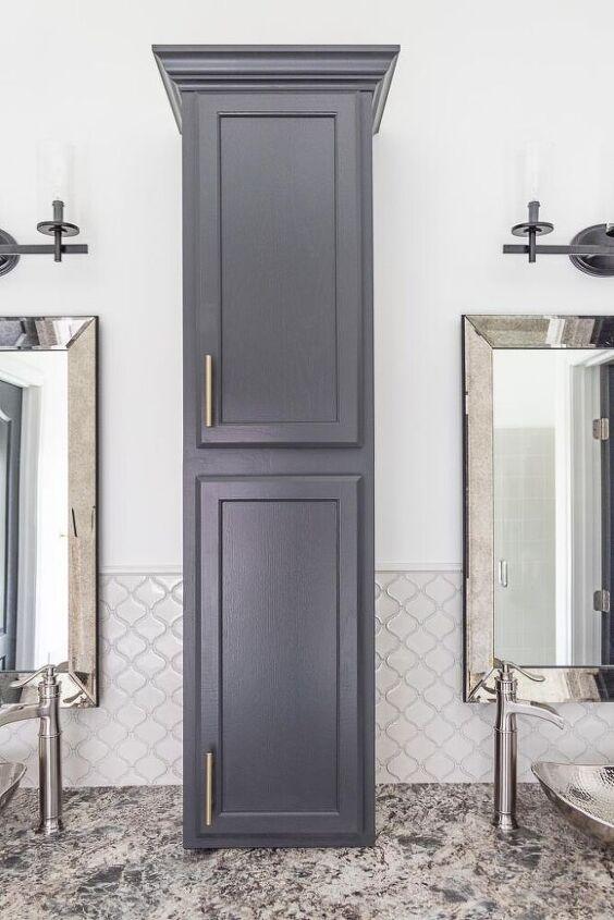 easy diy bathroom countertop cabinet