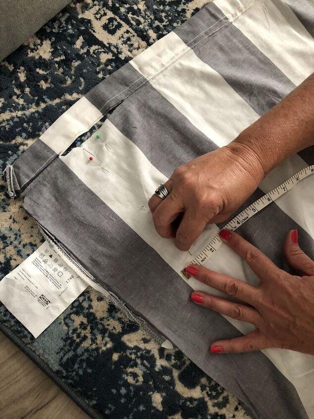 an easy diy roman shade step by step