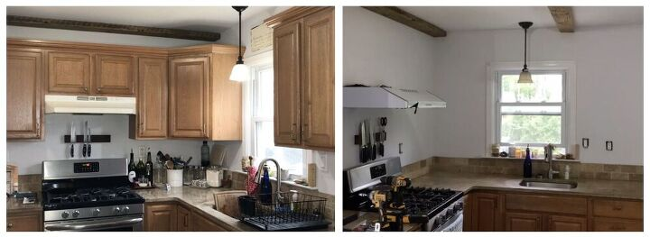 s 9 gorgeous kitchen makeover ideas on a budget, Make Your Kitchen Look And Feel Bigger