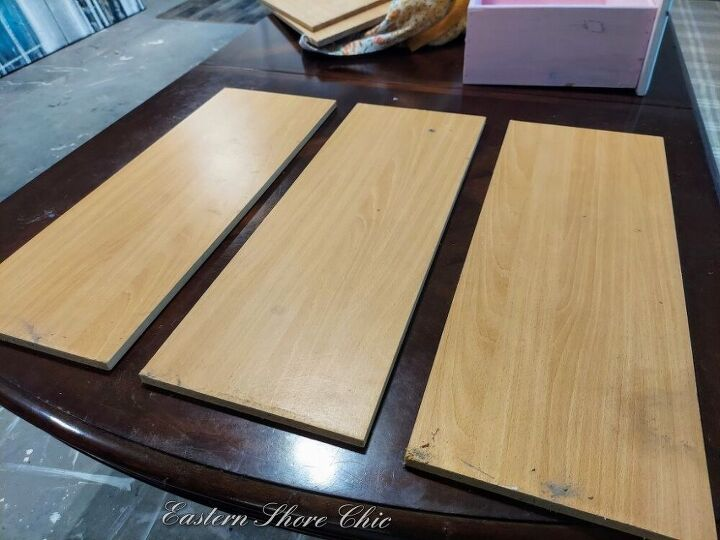 faux wood finish 3 different ways