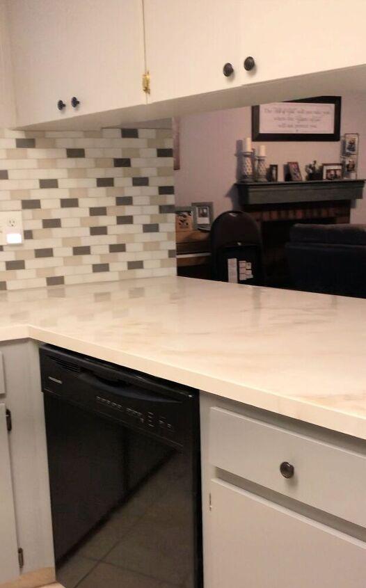 epoxy counters 101 over laminate formica