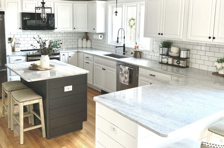our bright white kitchen remodel three daughters home
