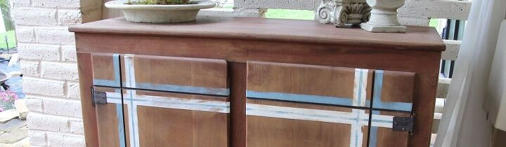 how to use colored stain on wood for accents