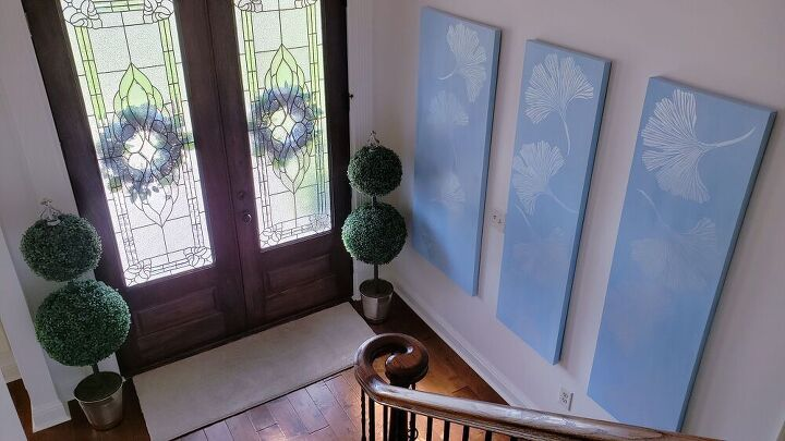 build and design chinoiserie canvas panels, Chinoiserie Panels