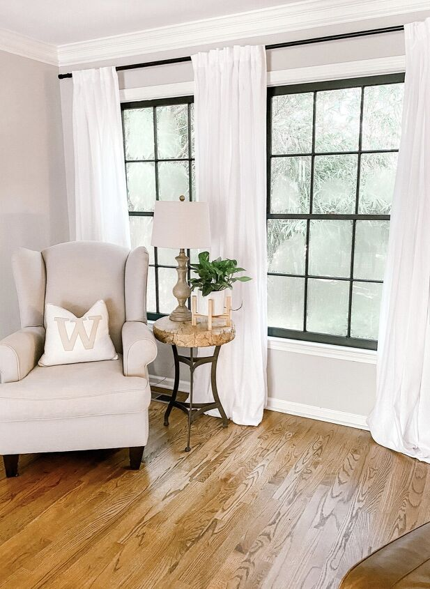 s 14 ways to upgrade your old windows without replacing them, Spray paint the frames black
