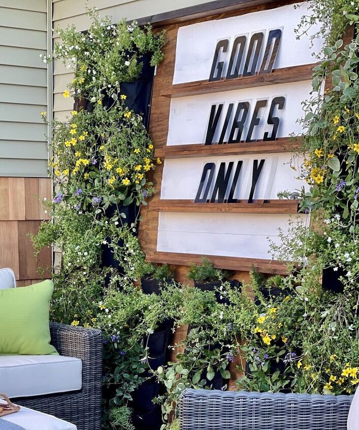 how i designed an easy diy outdoor living wall a life unfolding