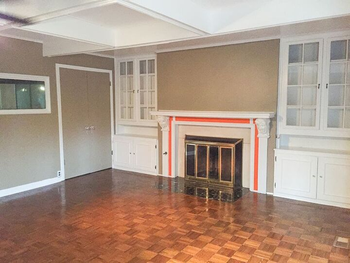 diy fireplace makeover from creepy to clean and classic