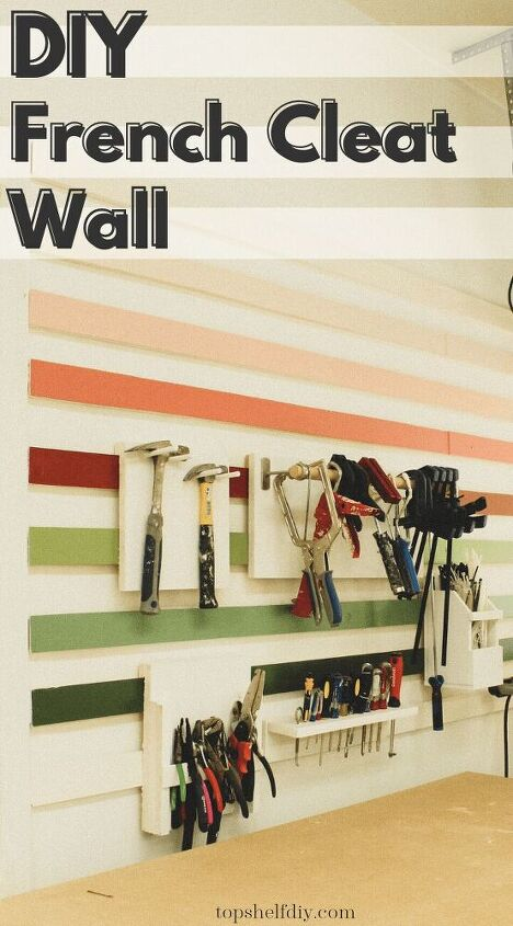 fun ombre french cleat wall week 3