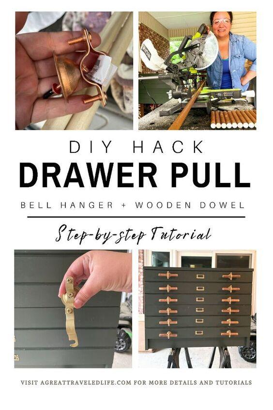 diy drawer pull tutorial