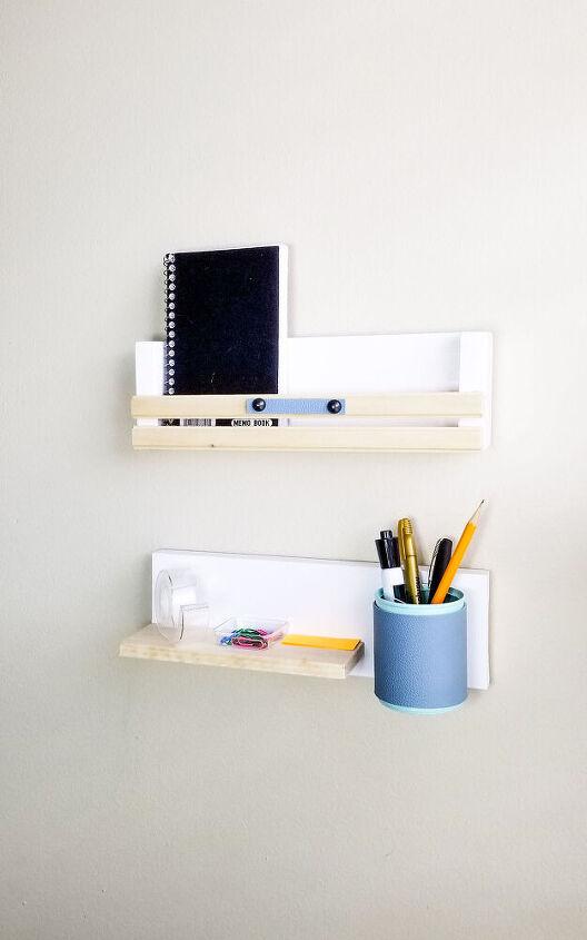 wall mounted stationary organizer
