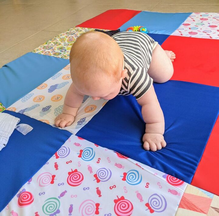 foam play mat for baby and toddler with removable cover