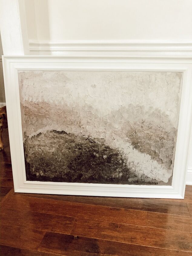 s 14 things you can diy for cheap instead of buying overpriced wall art, Make gorgeous spackled art