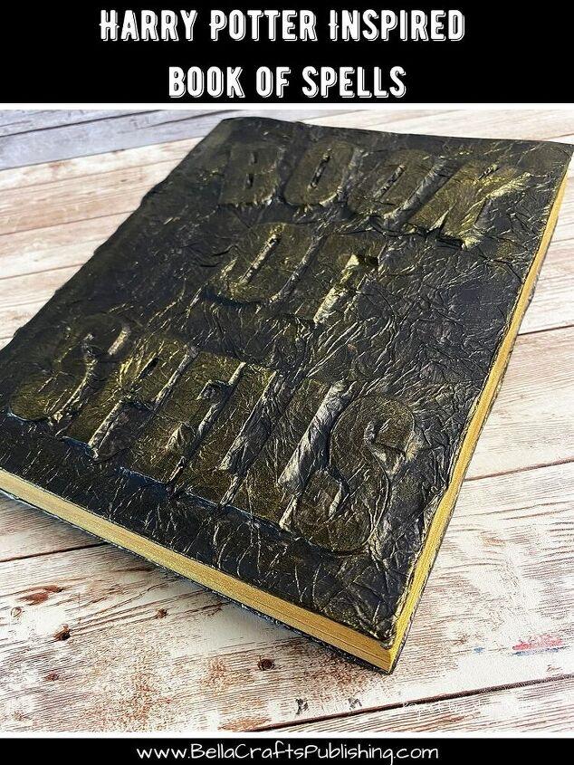 harry potter inspired book of spells