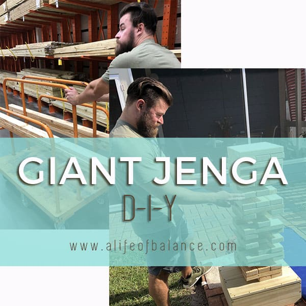 giant jenga diy great fun for the whole family