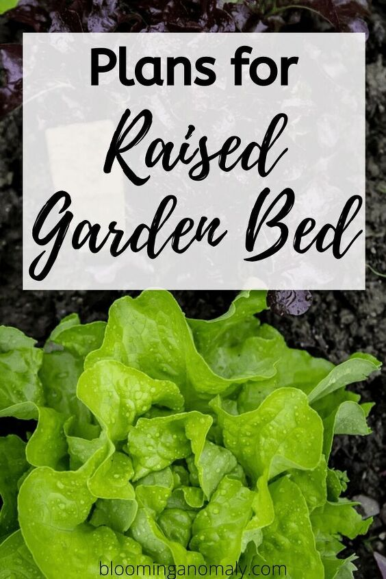 how to plans for raised garden bed