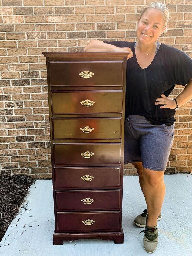three ways to modernize an old dresser