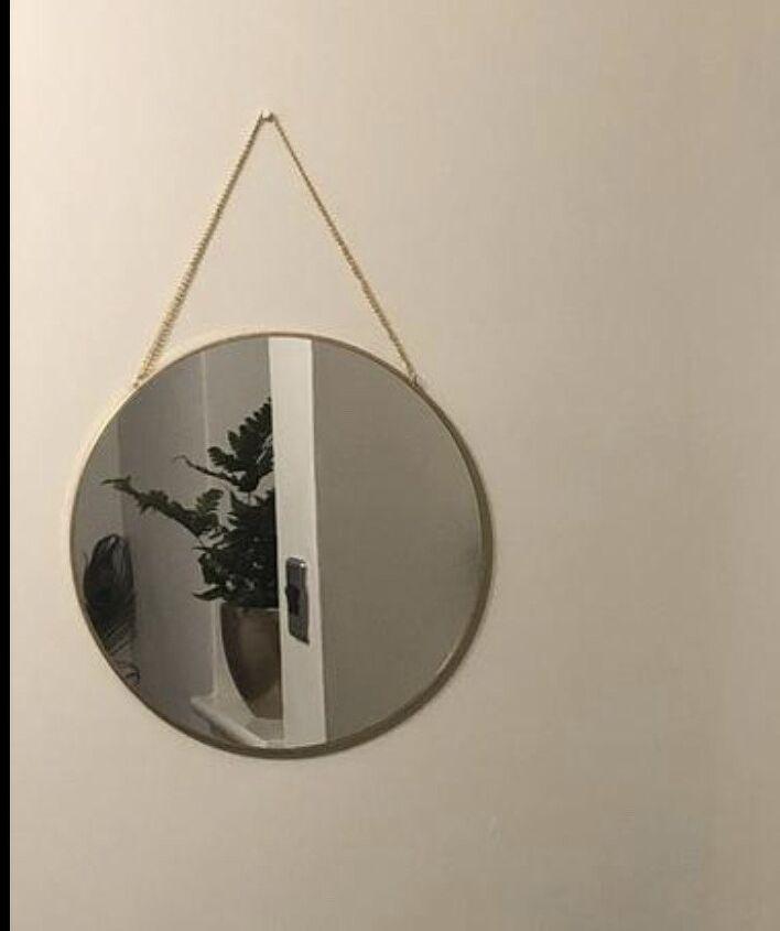 pampas grass mirror