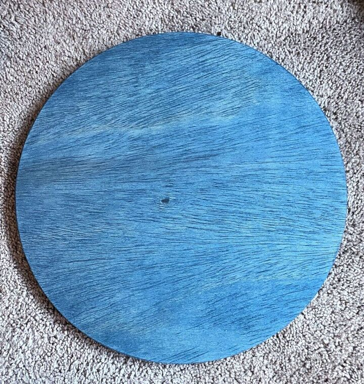 diy personalized wood round sign cricut project