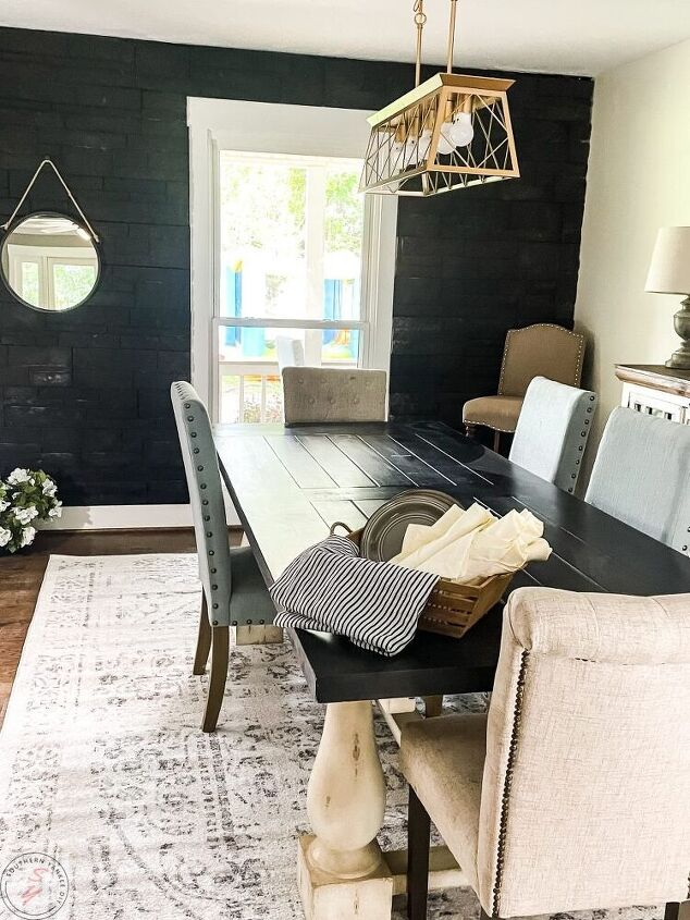 easy dining room makeover