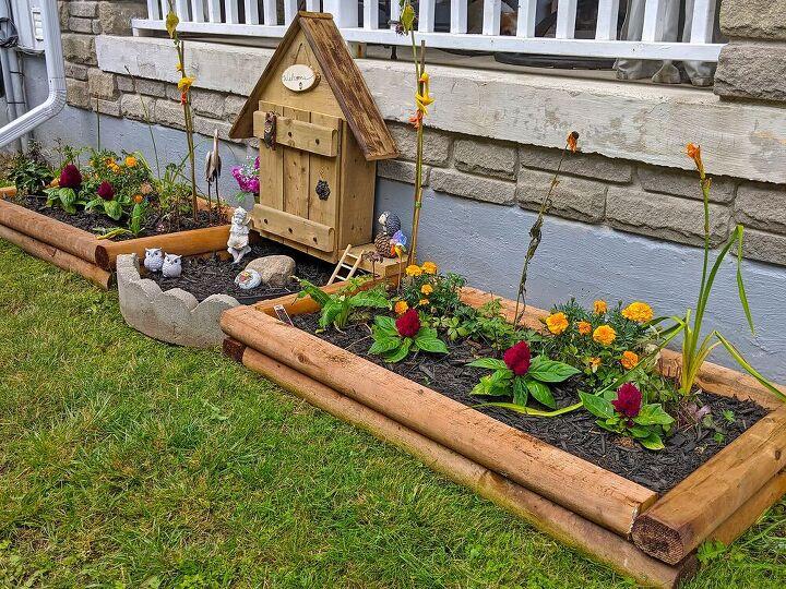 diy raised flower beds, After