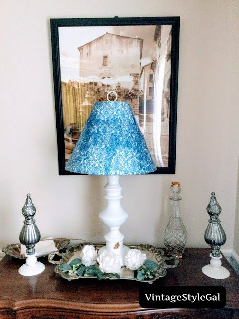 what can i do with an old lamp shade