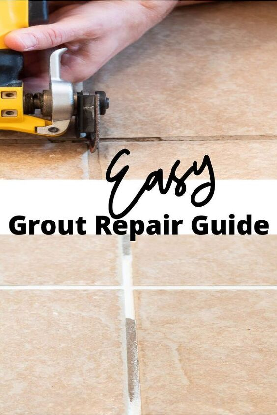 how to quickly repair cracked grout an easy step by step guide