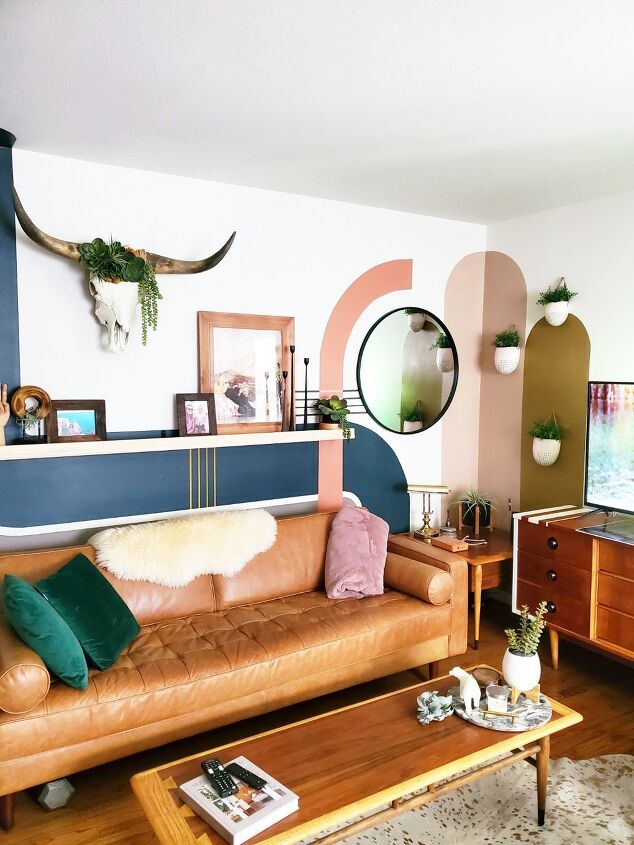 s 20 stunning wall ideas you should see before choosing paint colors, Paint a colorful wall mural