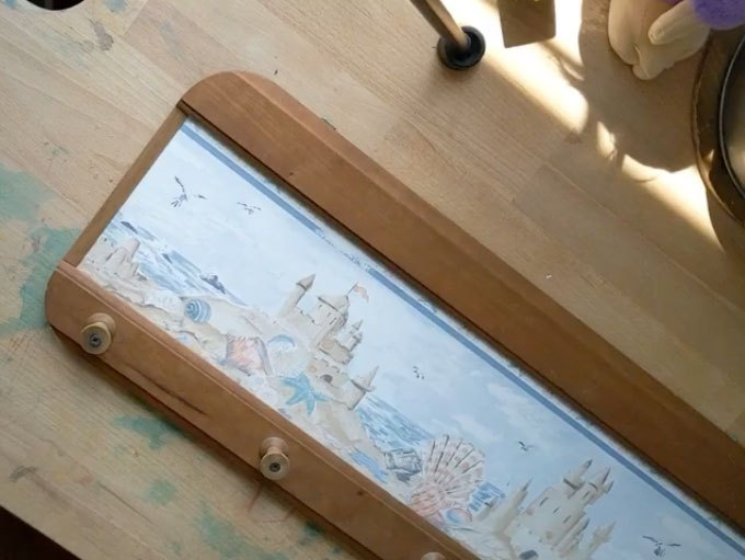 how to make a fabric covered pinboard