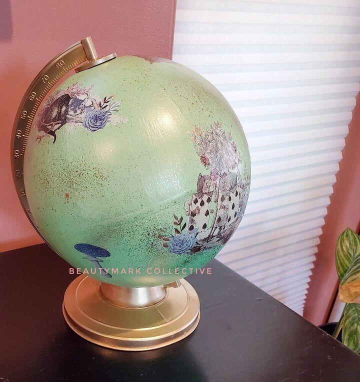 old globe makeover