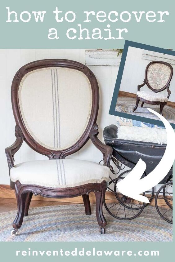 how to recover a chair victorian chair