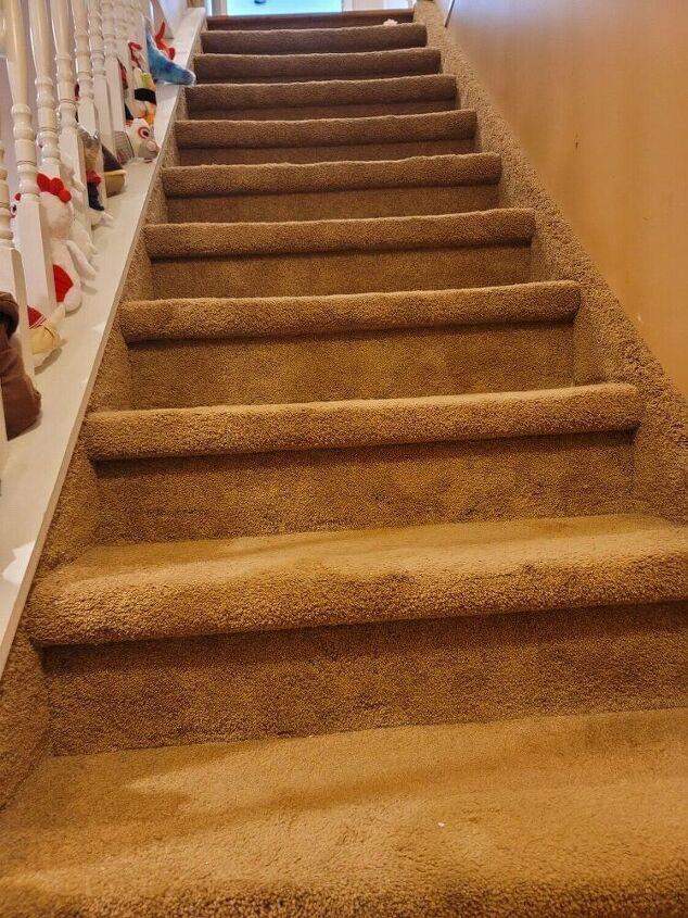 how i made my basement steps look like a million bucks