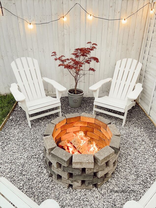 s 16 ideas that ll help you soak in the last weeks of summer, An inviting firepit
