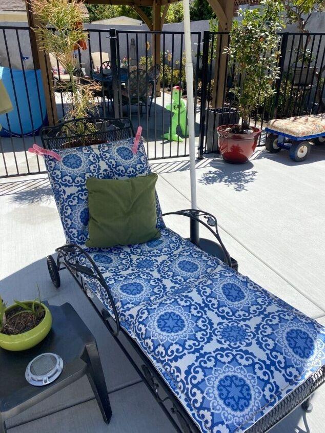 make a outdoor cushions