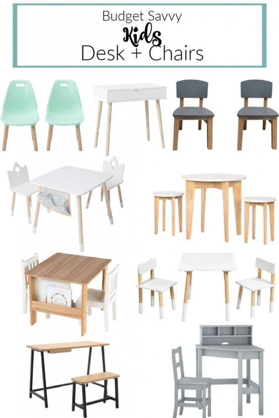 easy to build diy kid desk chair plus my favorite budget finds