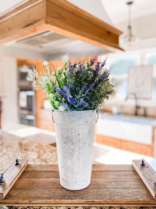vase redo from rustic to a weathered stone