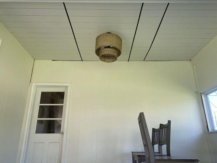 diy faux ceiling beams