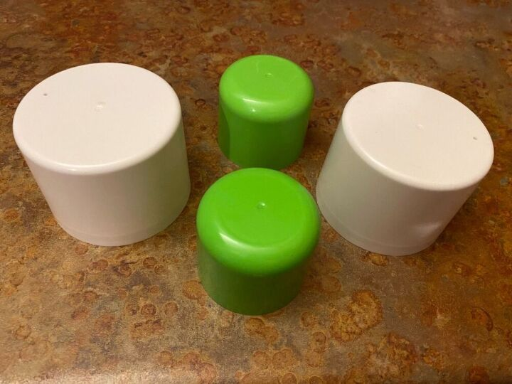q how can i repurpose spray can lids