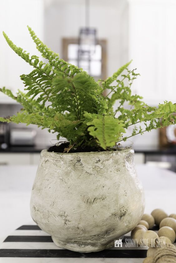 s 16 cheap decor ideas that look amazing, A beautiful textured planter
