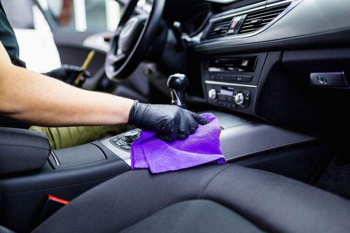 how to clean a car interior, how to clean a car interior