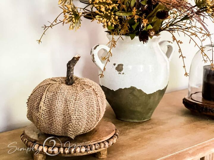 how to transform a dollarstore pumpkin in 5 simple steps