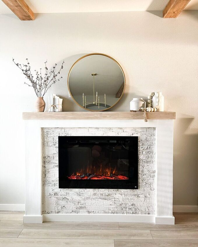 how i added a diy fireplace to my home