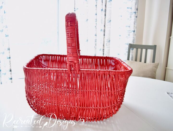grab an old basket for this easy fall porch project