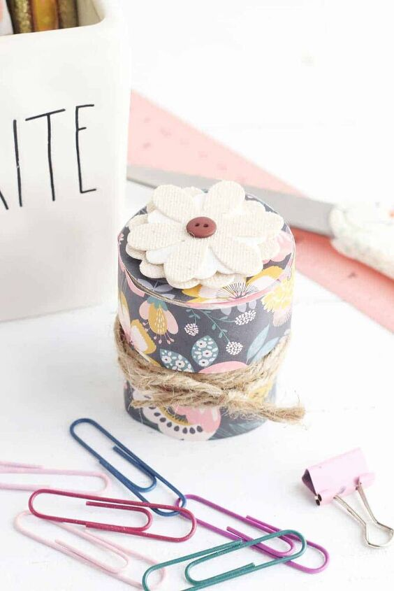 cute toilet paper tube box